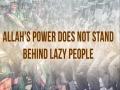Allah\'s Power Does Not Stand Behind Lazy People | Imam Sayyid Ali Khamenei | Farsi sub English