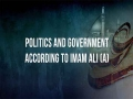 Politics and Government According to Imam Ali (A) | Imam Sayyid Ali Khamenei | Farsi sub English