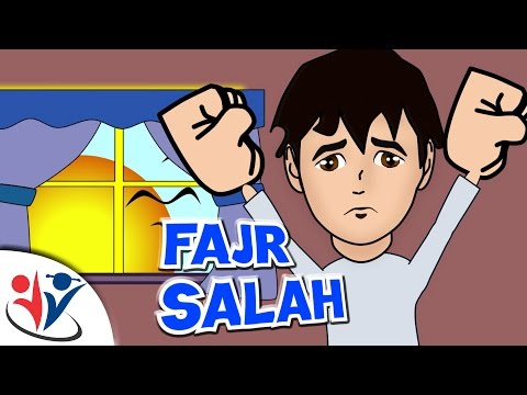 Abdul Bari Muslims Islamic Cartoon for children -Abdul Bari missed morning prayer- English