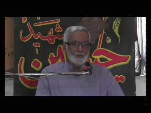 [Majlis Aza] Topic: Insan jo Khuda Daanh Safar   Engr Syed Hussain Moosavi - Sindhi