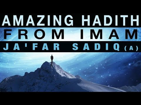 Amazing Hadith from Imam Ja\'far Sadiq | Shaykh Shabbir Hasanally | English