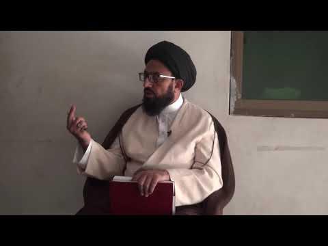 [Dars 3] Dushman Shanasi - دشمن شناسی   H.I Sadiq Raza Taqvi - Urdu