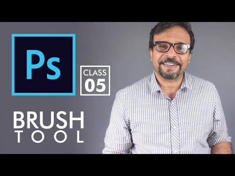 Brush Tool - Adobe Photoshop for Beginners - Class 5 | Urdu Hindi