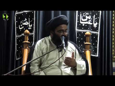 [06] Topic: Falsfa e Ghaibat-e-Imam or Hamari Zimadari   H.I Kazim Abbas Naqvi   Muharram 1441 - Urdu