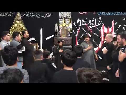 [Noha] Alwida ay Hussain (as)   Alamdar Moosavi   Husainiyah Pasmore Toronto - Urdu