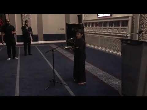 [Noha] Bint e Zahra ka khula sar hai khuda   Alamdar Moosavi    Jaffari Community Center  - Urdu