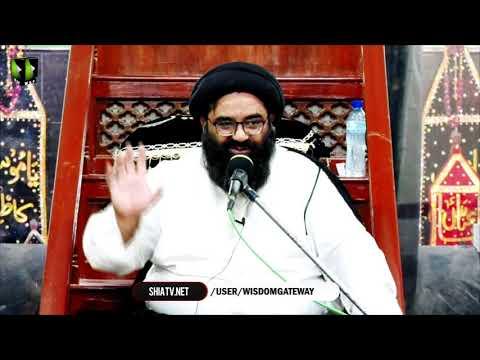 [3] Dushman Shanasi | H.I Kazim Abbas Naqvi | Muharram 1442/2020 | Urdu