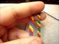 Tutorial 01 - Friendship Bracelet - The Candystripe (Chevron Base) - English