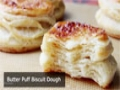 Butter Puff Biscuit Dough - Shortcut Puff Pastry Dough - English