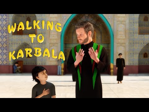 Walking to Karbala | Sayed Ali Alhakeem | 3D English Animated Latmiya/Noha | المشي الى كربلاء - English sub Arabic